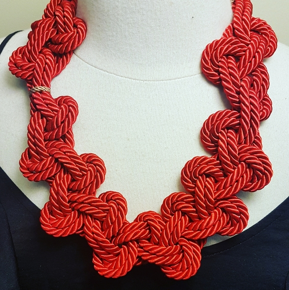Jewelry - Handmade cord necklace